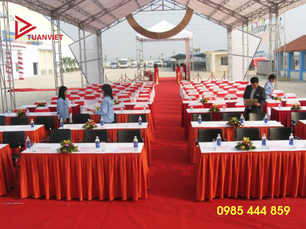 Cho thuê bàn ghế quận Hà Đông phục vụ sự kiện
