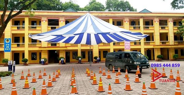 Dù sự kiện sử dụng trong việc chạy thử xe máy điện tại một trường học ở Phủ Lỗ, Sóc Sơn