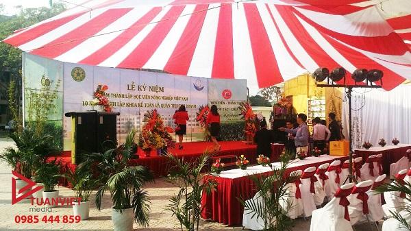 Lễ kỷ niệm 20 năm thành lập Học viện Nông nghiệp Việt Nam