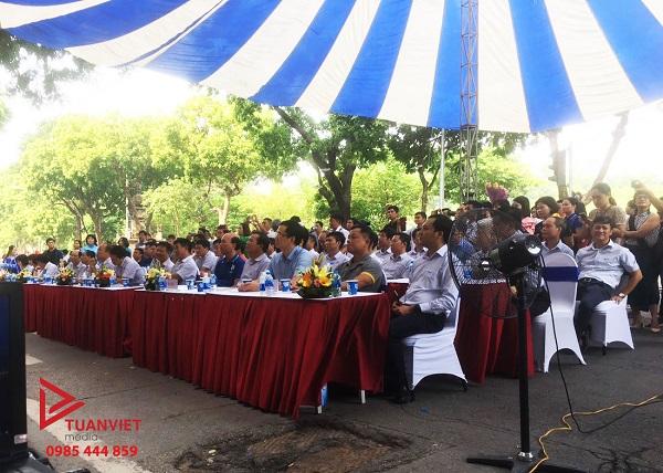 Sự kiện về hội thi văn hóa VNPT năm 2019 tại bờ hồ Hoàn Kiếm, Hà Nội