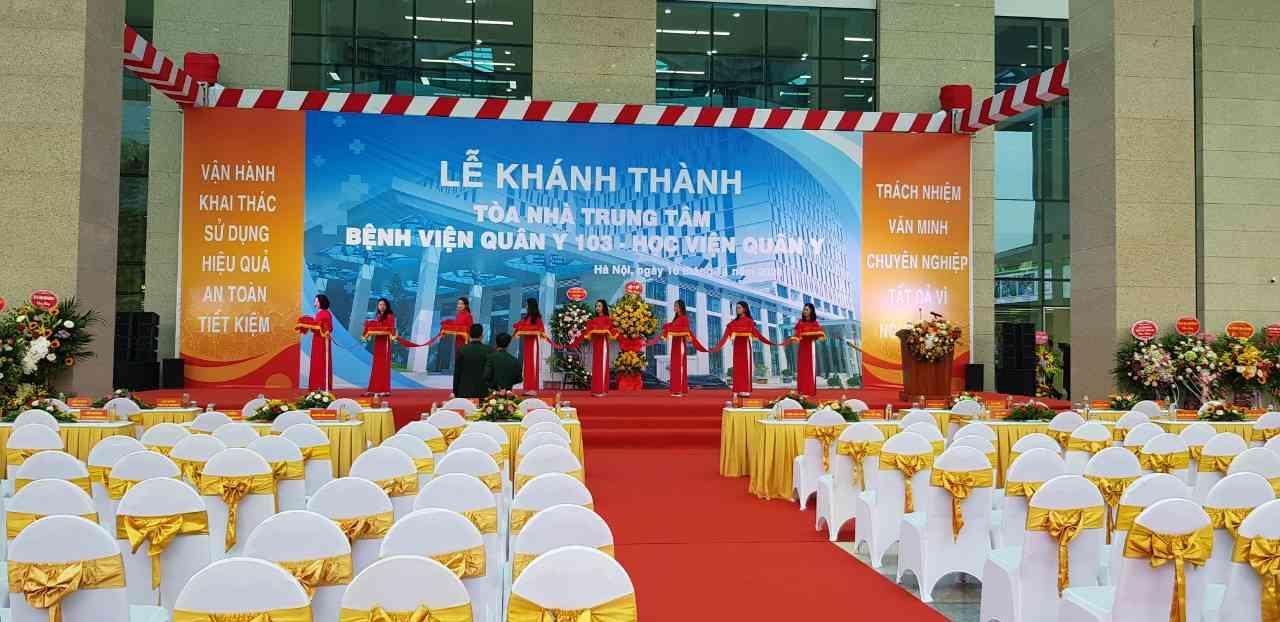 Thuê bàn ghế quận Long Biên phục vụ sự kiện ăn cỗ