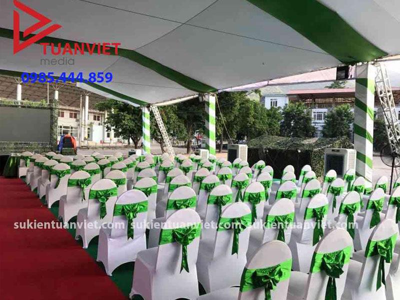 Tuanviet Media : Cho thuê ghế banquet số lượng lớn, cho thuê quạt điều hòa
