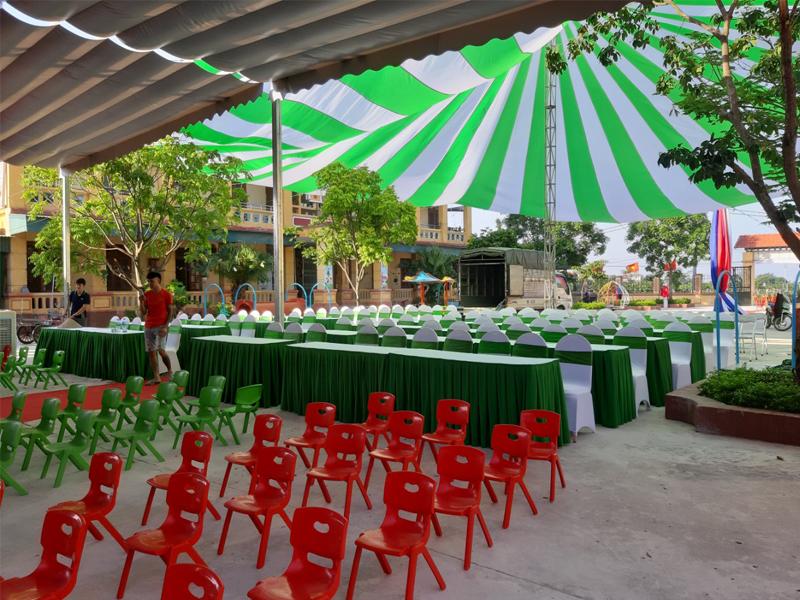 Cho thuê dù sự kiện giá rẻ nhất tại Hà Nội