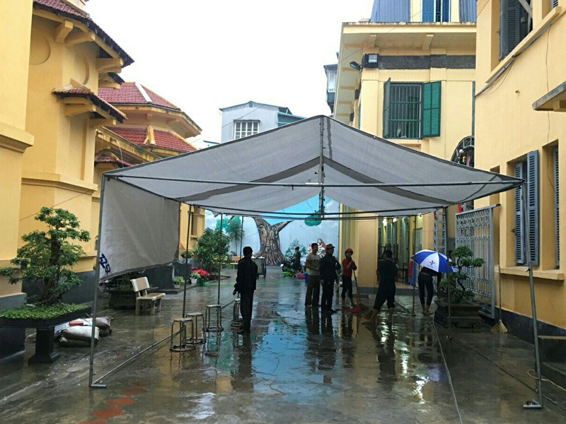 Dịch vụ cho thuê nhà bạt, nhà giàn, không gian uy tín tại Hà Nội