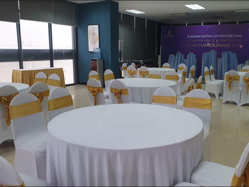 Thuê bàn ghế sự kiện ở đâu giá tốt nhất?