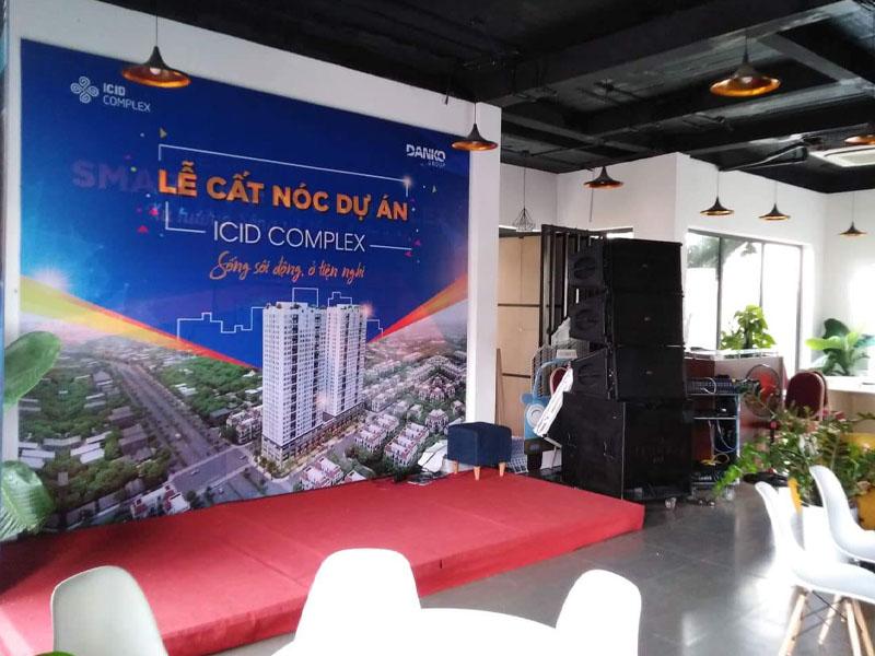 Cho thuê khung backdrop uy tín, giá rẻ tại Hà Nội