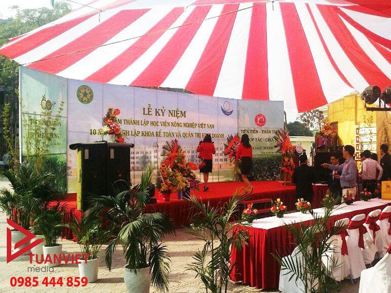 Tuấn Việt Media cho thuê ô dù sự kiện chuyên nghiệp, giá tốt