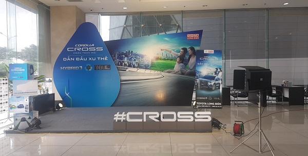 Tuấn Việt cho thuê thiết bị sự kiện hệ thống sân khấu di động trong lễ ra mắt sản phẩm mới của Toyota Long Biên