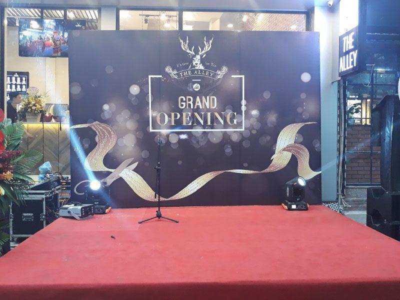 Giới thiệu đơn vị thuê khung backdrop sân khấu uy tín tại Hà Nội