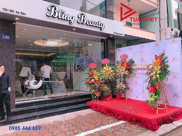 Đơn vị dịch vụ tổ chức khai trương chuyên nghiệp, giá tốt tại Hà Nội