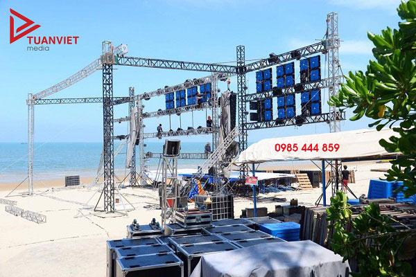 Cho thuê dàn âm thanh tổ chức sự kiện khai trương tại Tuấn Việt