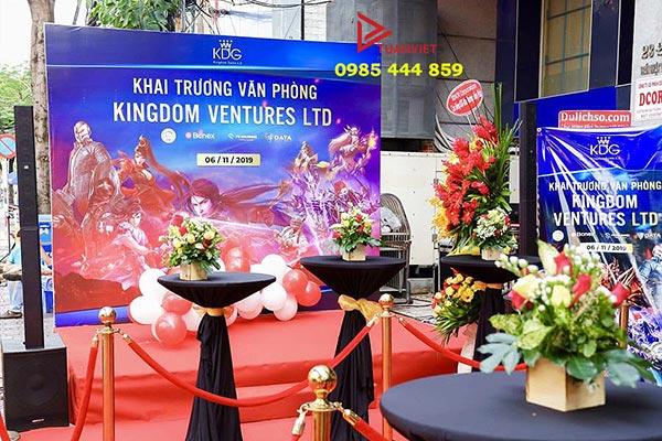 Sự kiện khai trương văn phòng được tổ chức bởi Tuấn Việt