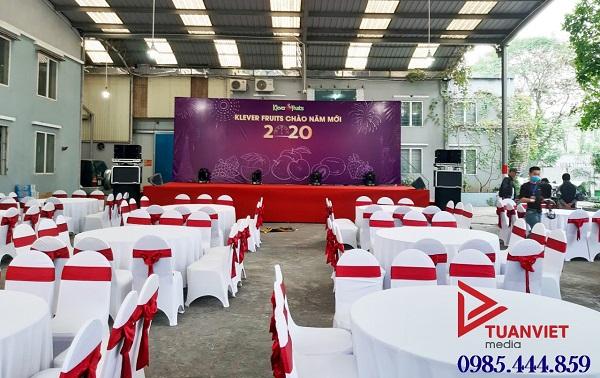 Hình 4. Tuấn Việt tổ chức tiệc cuối năm cho doanh nghiệp