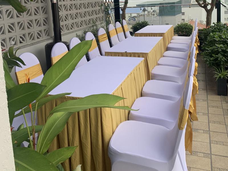 Thuê bàn ghế ăn cỗ tại quận Đống Đa uy tín, giá rẻ nhất