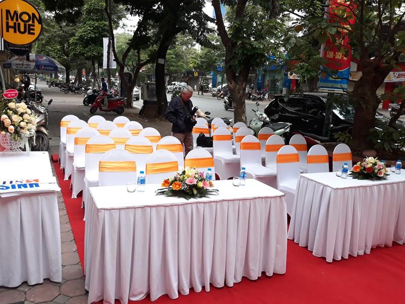 Đơn vị cho thuê bàn ghế sự kiện uy tín nhất tại quận Thanh Xuân