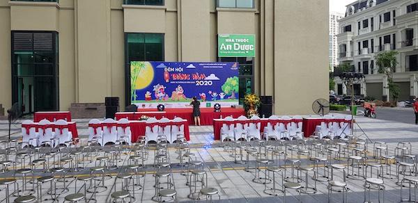 Tuấn Việt tổ chức sự kiện Trung thu ngoài trời