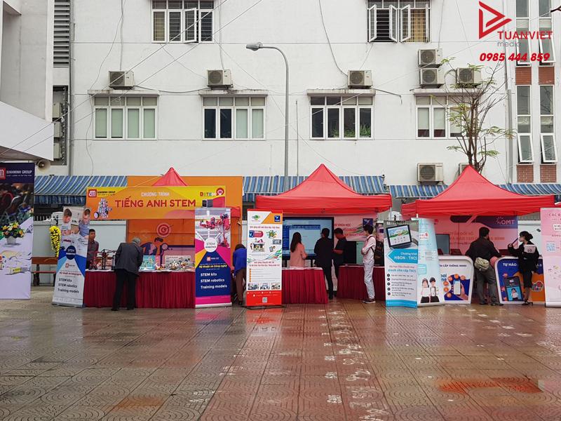 Thuê nhà bạt tổ chức sự kiện tại Hà Nội